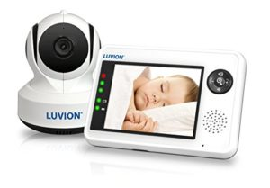 Luvion 88 Essential Digitales Video - Babyphone mit 3,5 Zoll Farbbildschirm und Gegensprechfunktion